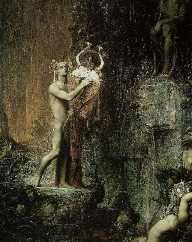 Orpheus in the Underworld by Pierre-Amedee Marcel BERONNEAU