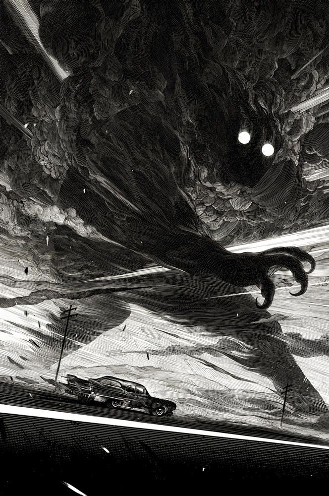 Stunning Black & White Art by Nicolas Delort   From up North
