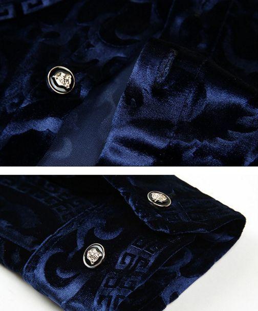 Shopjmix - Moda masculina online - Camisa social slim fit - CAMISA SOCIAL MASCULINA SLIM FIT LUXO