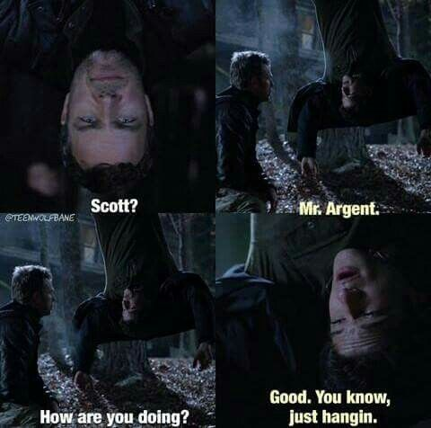 funny, teen wolf, and scott mcall afbeelding