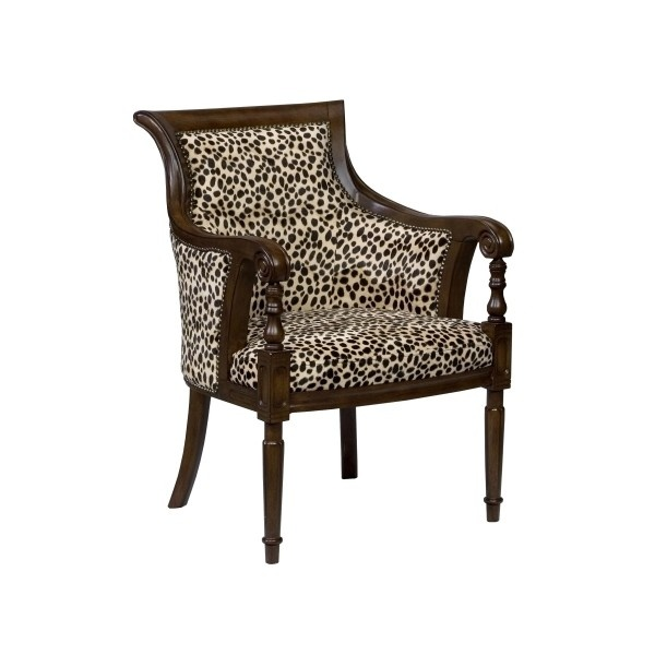 Ivan Smith Furniture Occasional Chairs Animal Print Arm Chair Liked On Polyvore Polyvore