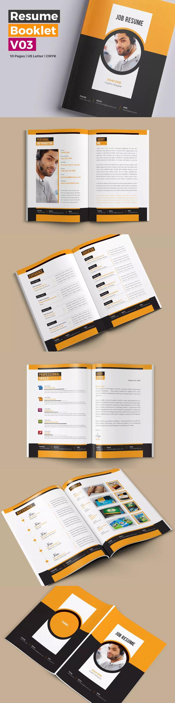 89 best Resume / CV Design Templates images on Pinterest ...