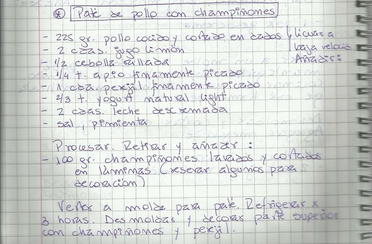 PATE DE POLLO CON CHAMPIÑONES   #SALADO #COCTEL #COCTEL #POLLO