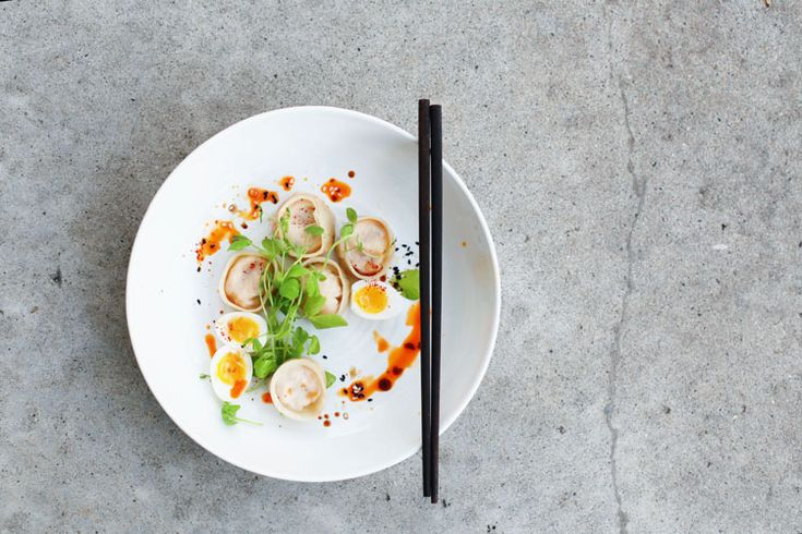Kimchi Tofu Mandu - Kimchi dumplings