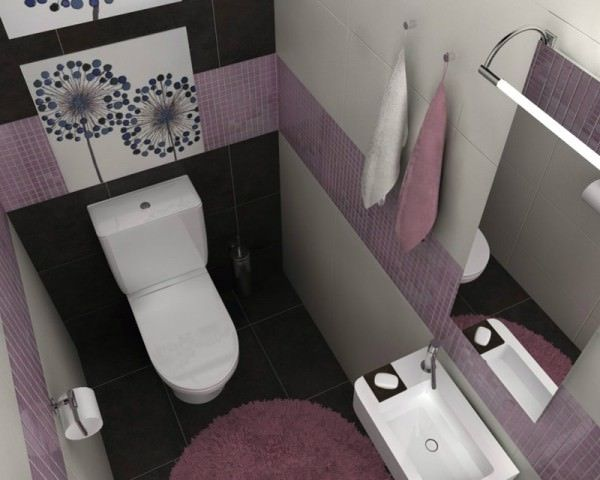 маленький туалет  декор 4ъ