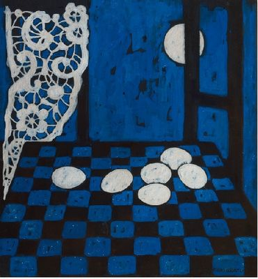'Night Eggs' Felice Casorati