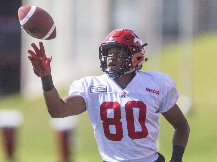 Calgary Stampeder Eric Rogers was briefly a Redblack.