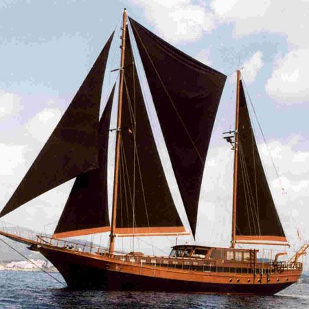 BELUGA An elegant wooden sailing vessel from the past, brought glowingly back to life by Anouska Hempel, Beluga One is now one of the most beautiful boats on the Mediterranean.`