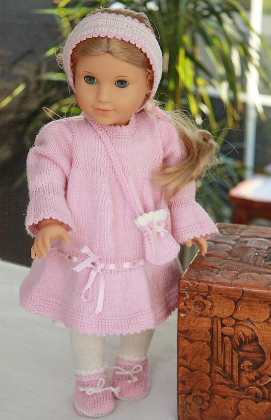 Knitting dolls clothes | knitting patterns for dolls clothes