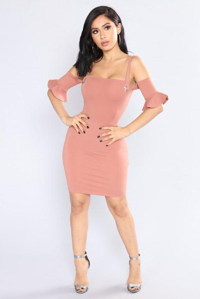 Piper Dress - Blush
