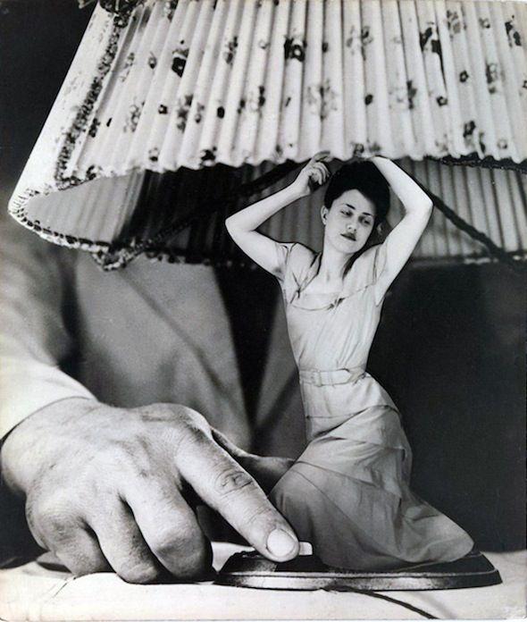 Grete Stern, Dream No. 1. 1948. Photomontage.