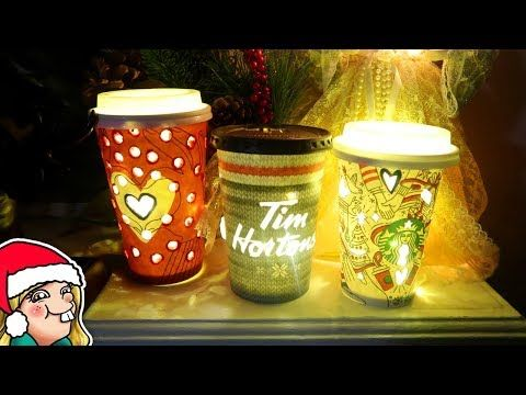 DIY Holiday Coffee Cup Christmas Decorations 🎄Arty Advent Day 4🎄  Video  Description MY BOOK: Amazon: Barnes & Noble  (USA) Indigo:  (Canada) Waterstones:  (UK) Dymocks:  (Australia) ★♥★♥★♥★♥★ SHOP: VLOGS: KIDS Art Channel: ★♥★♥★♥★♥★ TWITTER: INSTAGRAM: TWITCH (livestreams): Personal Instagr...
