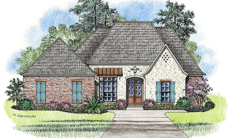 17 best images about house ideas on pinterest french for Louisiana french country house plans