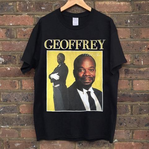 c70c047b GEOFFREY FRESH PRINCE OF BEL AIR T-SHIRT #freshprinceofbelair #geoffrey  #willsmith #tshirt #blacktee #retro #90s #homagetees #vintage #k…