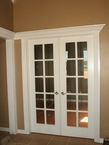 french doors into office
