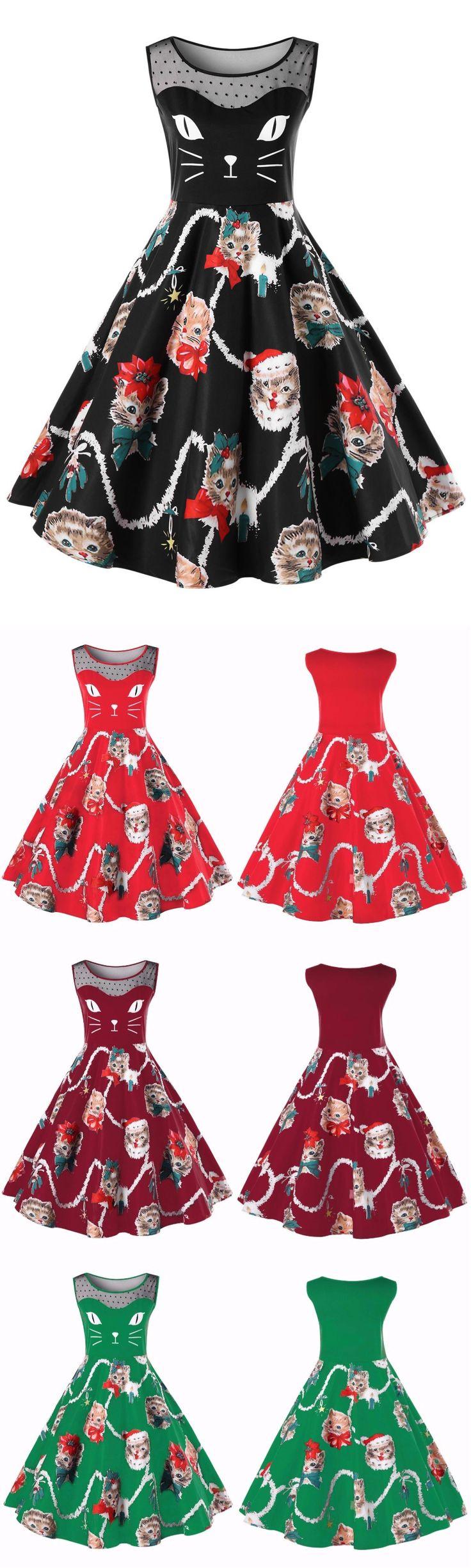 #PlusSize #Kitten #Dress