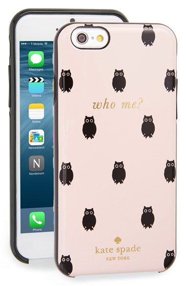 kate+spade+new+york+kate spade+new+york 'who+me?'+iPhone+6+case+(Nordstrom+Exclusive)+available+at+#Nordstrom