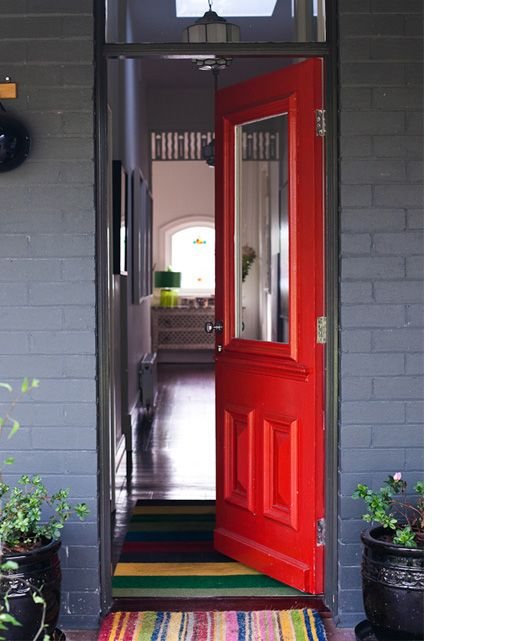 Red Door Grey House 90 best grey houses for mum images on pinterest | front door
