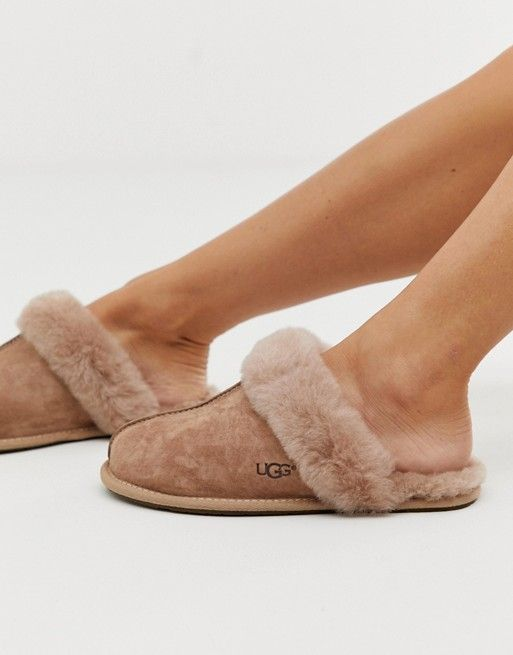 6eee0f827927db UGG Scuffette Fawn Slippers  127.00