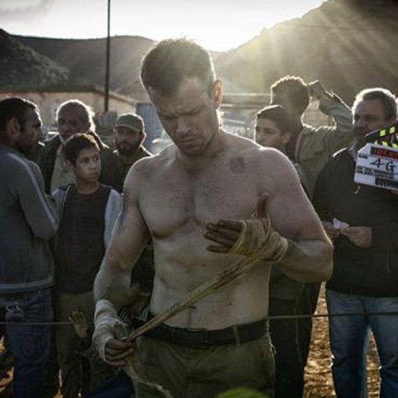 Matt Damon torse nu pour la première image de Jason Bourne 5 | HollywoodPQ.com