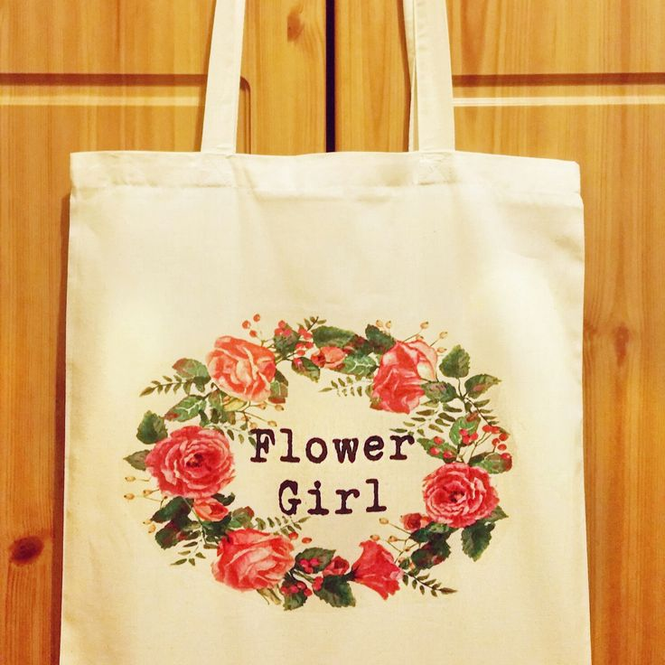 Flower girl tote bag, wedding tote bags, personalised bag, bride to be tote, mother of the bride, mother of the groom bag, maid of honour bag, Bridesmaid tote bag