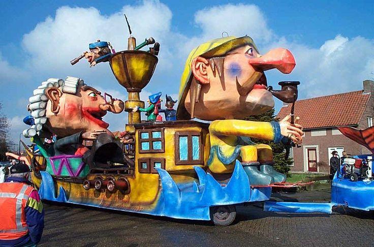 Bokkendillies 2001 - Driemaal is Scheepsrecht - Optocht Oijen