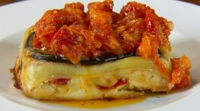 Neil Perry's vegetable lasagne with roasted tomato sauce