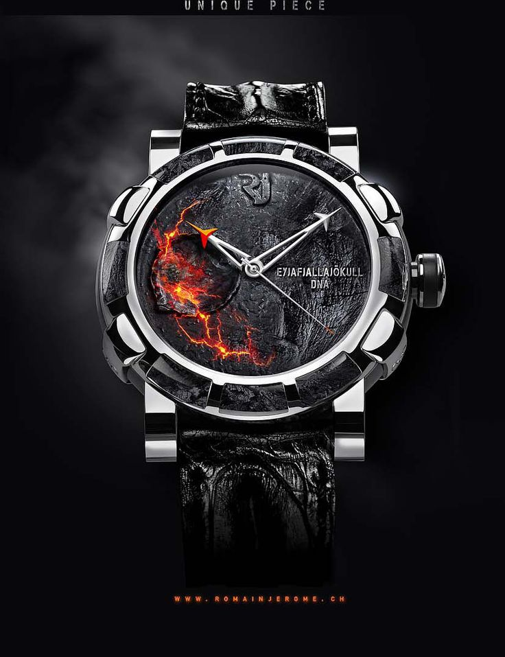 Romain Jerome Eyjafjallajokull Volcano DNA luxury watch