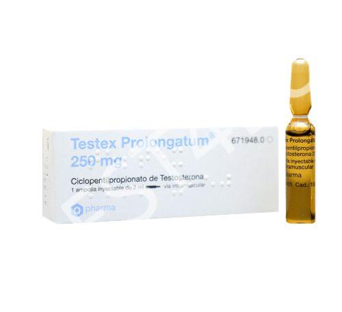 Buy Testex Prolongatum (Testosterone Cypionate) 250mg/amp. Q-PHARMA