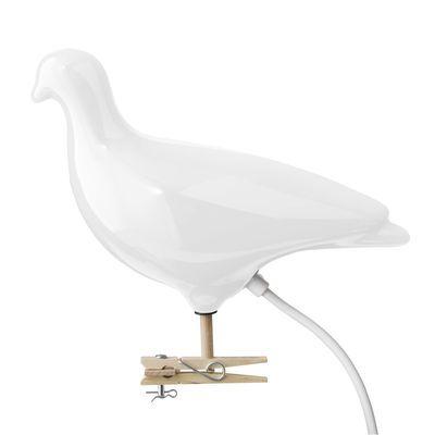 Lampe Pigeon / à clipser ou à fixer au mur