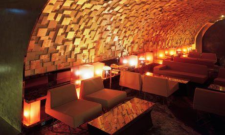 David Lynch's nightclub Club Silencio in Paris, based on the club in his film Mullholland Drive.