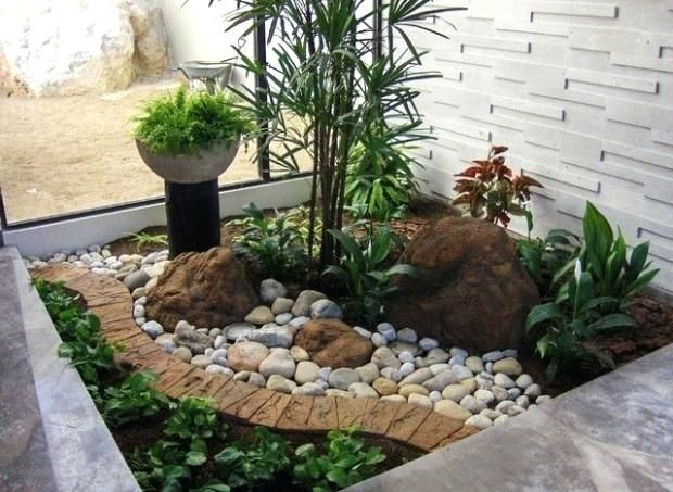 Small Front Yard Landscaping Ideas No Grass Ideas Inside Small
