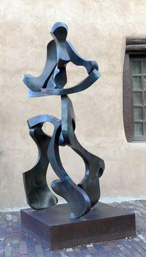 Lago di Garda, 1992, Bill Barrett, American, b. 1934.  Fabricated bronze.  The New Mexico Museum of Art, USA