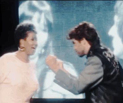 George Michael Aretha Franklin