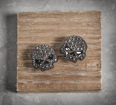 Women's Skull Earrings #HDNaughtyList LOVE THESE!!! $50
