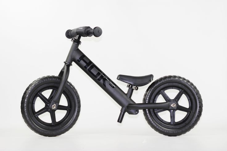 One of a kind Flat Black HOK9 Strider Balance Bike