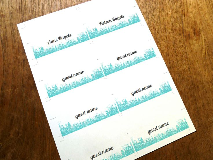 1000  ideas about place card template on pinterest