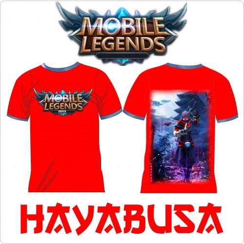 Kaos Mobile Legend | Distro Custom Apparel