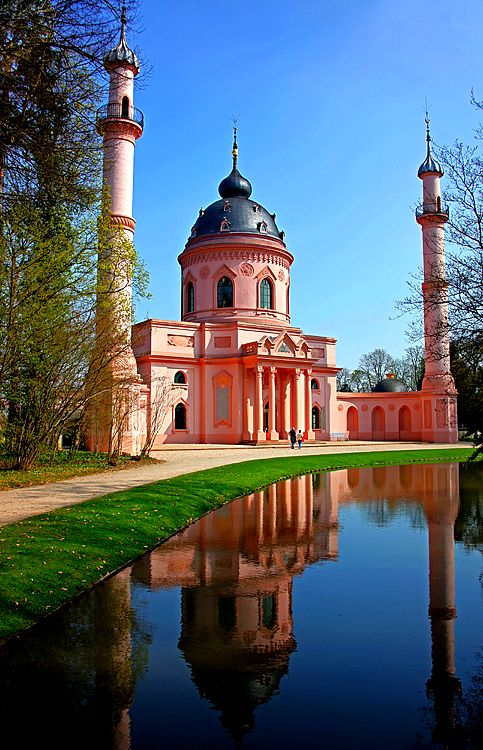 ✵ Travel Pinspirations ✵ *Schloss (Castle) Schwetzingen, Germany* Mosque in Castlegarden
