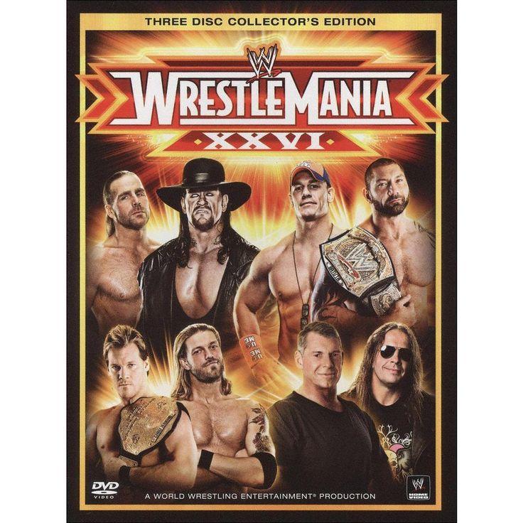 WWE: Wrestlemania Xxvi (Collector's Edition) (3 Discs) (Fullscreen)