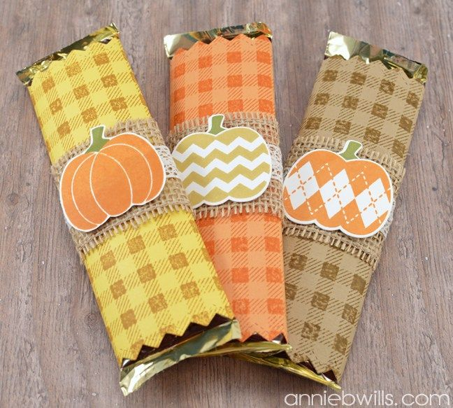 Easy Halloween Candy Bar Wrappers                                                                                                                                                                                 More