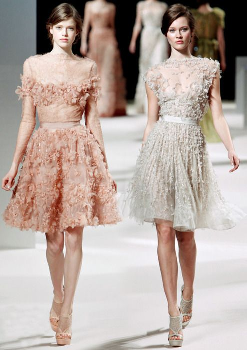 Elie Saab spring collection