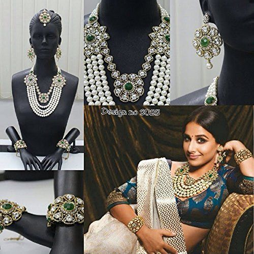 Indian Bollywood Style Gold Plated White Pearls Stone 4 S... https://www.amazon.ca/dp/B01MATMEL9/ref=cm_sw_r_pi_dp_x_nWxNybEP73G2C