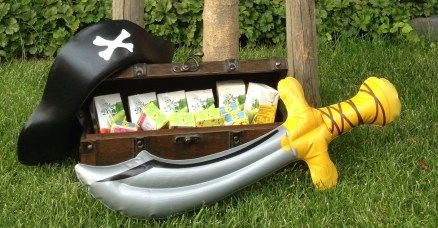Piratenspeurtocht kinderfeestje SCHAT ZOEKEN 02 I Creatief lifestyle blog Badschuim