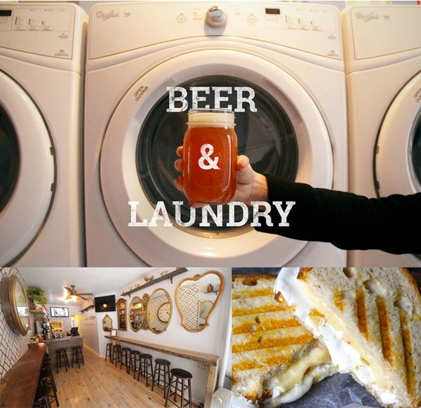 This bar will do your laundry while you have a beer and grilled cheese