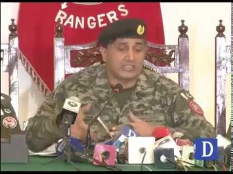 Punjab Rangers presser conference