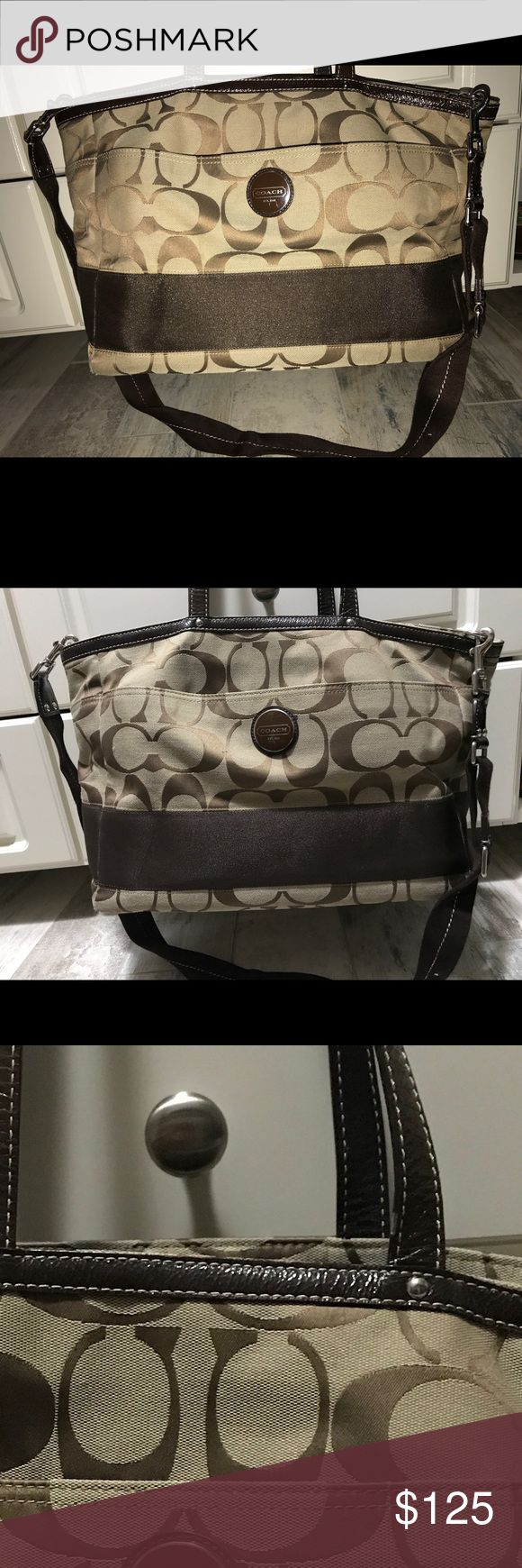 Spotted while shopping on Poshmark: Coach Diaper Bag! #poshmark #fashion #shopping #style #Coach #Handbags