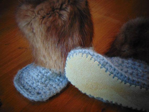 Toddler Viking Slipper slate mink Size 8T
