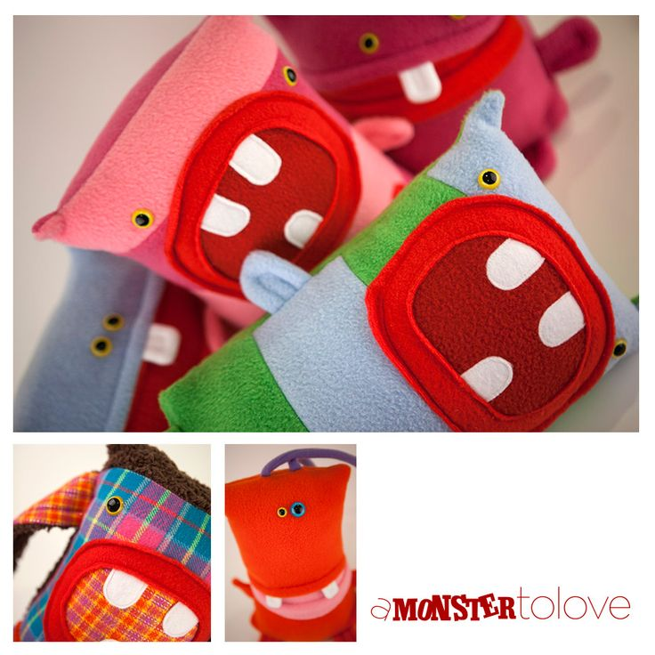 Make a huggable monster for a child in need this holiday season with this free pattern from the nonprofit A Monster to Love, available exclusively on Craftsy.