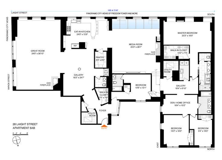 31 best penthouse apartment images on Pinterest | Penthouse ...